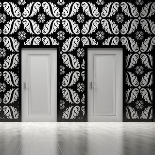 Zimmertür weiß